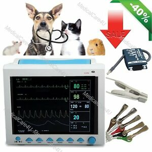 Vet Veterinary Icu Patient Monitor 7 Parameters Animal Vital Signs Monitor usa