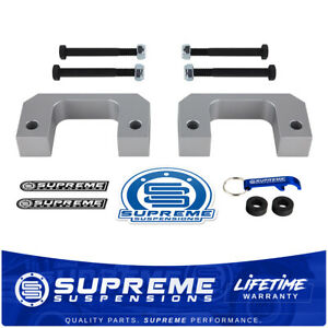 1 Front Silver Lift Kit For 07 16 Cadillac Escalade Billet Aluminum 4wd 2wd