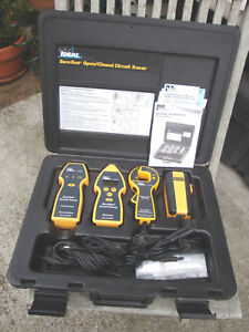 Ideal Suretest Sure Test Open Closed Circuit Tester Tracer Tester Kit 61 958