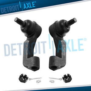 Pair Front Left Right Outer Tie Rod Ends For 2002 2003 2004 2007 Jeep Liberty