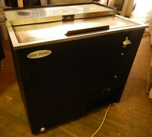 Bottle Cooler From Serv ware model Bc 36 36 flat Top New