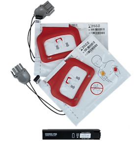 Physio control Lifepak Cr Plus Charge pak 2 Sets Of Electrodes