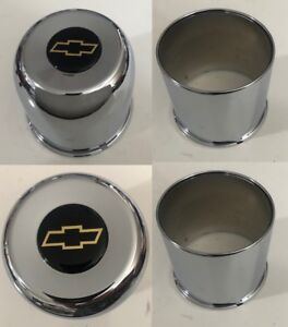 4 Wheel Center Caps 4 25 For Chevy 6 Lug 6 X5 5 Truck 4wd Bowtie Open Closed