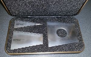 Mikemaster Msk 200 Micrometers Standards Set 1 2 3 With Case