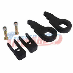 Front 1 3 Leveling Lift Kit Shock Extender For Chevy Avalanc Sierra Gmc 2wd 4wd