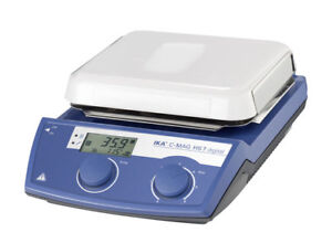 Ika C mag Hs 7 Digital Display Hotplate Stirrer Analog Ceramic 120v 3487001