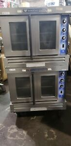 Bakers Pride Cyclone Convection Oven Full Size Double Stack Gdco Natural Gas