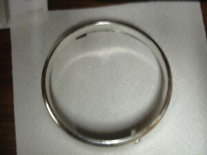 1968 Ford Fairlane Left Outer Headlight Trim Ring