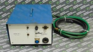 Used Miller Mc 1 Millermatic Weld Control Box For Spoolmatic 1 Alum Spool Gun