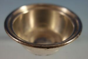 Old French By Gorham Sterling Silver Salt Dip 1 1 2 X 1 4 A404 2673