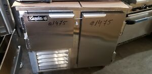 Leader Model Fb36s c 48 Commercial Freezer Low Boy self contained 1475