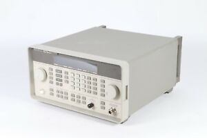 Hp Agilent Keysight 8648a 9khz 1000 Mhz Synthesized Signal Generator