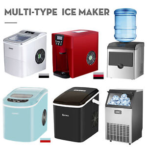 Ice Maker Commercial Compact Countertop Ice Cube Maker Up To 26lbs 33