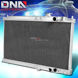Dual Core High Capacity Race 2 Row Cooling Radiator For 94 01 Acura Integra Mt