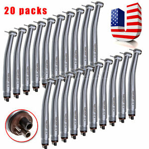 20x Autoclave Dental High Speed Handpiece 4hole Air Turbine Clean Head Fit Nsk