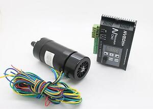 Brushless Spindle Motor Nvbdh Cnc Brushless Dc Motor Driver Set New