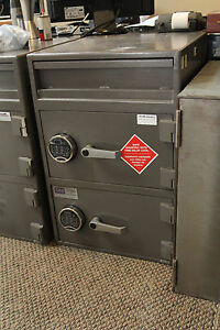 Allied Safe b Rated 2 Door Used Drop Safe Electronic Locks