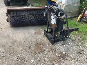 Sweepster 6 Sweeper Skid Steer Tractor Bobcat Truck With Hydraulic System