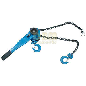 1 5 Ton Lever Block Ratchet Chain Hoist Lift Come Along Winch Puller