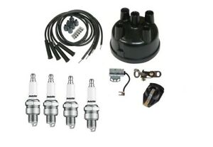 Ignition Tune Up Kit Ford 8n Tractor With Side Mount Distributor Sn 263844