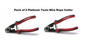 Platinum Tools Wire Rope Cutter 10513c Pack Of 2