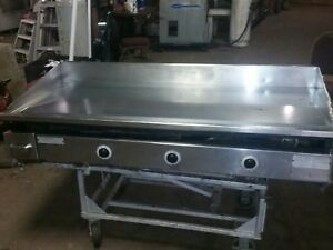 Keating Miraclean Flat Top Gas Grill Tested 60bfld Griddle