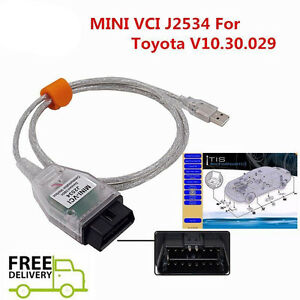 Latest Mini Vci Diagnostic Tool Cable Scanner For Toyota Lexus Tis Techstream Us