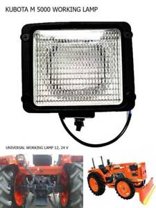 Use For Kubota Tractor M 4700 M 5000 M 8200 M 9000 Work Lamp Flood Light 1 Pc