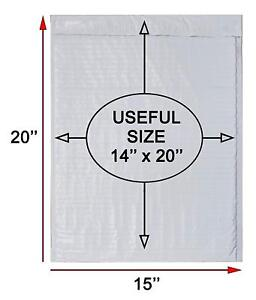 White Poly Bubble Mailers 14x20 Padded Envelopes 14 X 20 By Amiff Pack Of 10 15