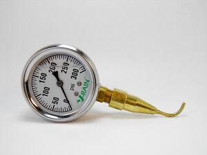 Check Your Psi At The Sprinkler quality Liquid Filled Gauge N Pitot Tube 300psi