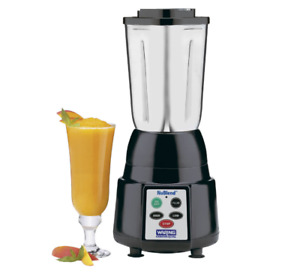 Waring Nublend 2 Speed Commercial Bar Blender Stainless Steel Container Bb185s