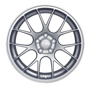 Set Of 4 19 Miro 111 Silver Machine Polish Face Staggered Wheels 5x120