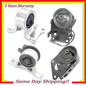 4pcs For 02 04 Nissan Altima S Se Sl Base 3 5l Engine Motor Trans Mount