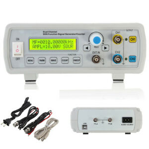 Fy2202s 2mhz Dual Channel Dds Function Signal Generator Sine Sweep Wave Square