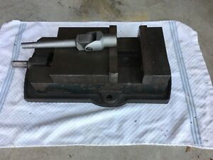 6 Milling Machine Vise W handle Free Pickup Ok