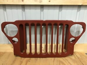 Grille Fits Military Willys Jeep Mb Ford Gpw 1941 1945 Reproduction 9 Slats