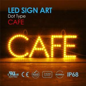 Led Open Sign Super Bright Cafe Sign Ultra Light Window Sign