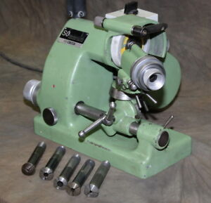 Deckel So Tool Cutter Grinder Bench Model 1 115 Volts With Collets Beauty