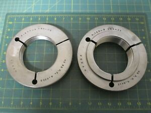 Machinist Tools Ring Thread Gage Go no Go 4 125 8 Uns 2a 4 0415 4 0338