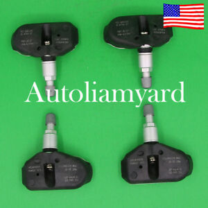 Tire Pressure Sensor Tpms Bt 30 Gf Stems Set Ts27 For Acura Honda Ridgeline 4pcs