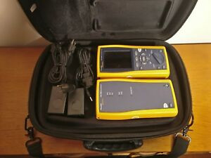 Fluke Networks Dtx 1800 Cable Analyzer W Smart Remote Channel And Link Adapter