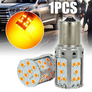 Error Free Amber Yellow Ba15s 1156 Led Bulb 35 Smd Turn Signal Lights Canbus