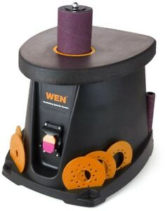Wen Oscillating Spindle Bench Sander 1 2 Hp 3 5 Amp Motor Lockout Power Switch