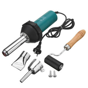 1080w Plastic Hot Air Welding Welder Heat Hot Gas Tools Kit Roll Rod from Us