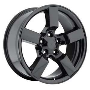 20 Gloss Black Ford F150 Svt Lightning Expedition Wheels One Sing Rim 1997 2004