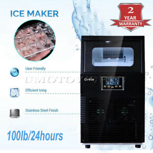 2018 New Automatic Commercial Ice Maker Rapid Ice Cube Making Machine 38kg 83lb