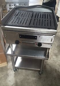 Char Grill Ember Glo Electric Char Grill Broiler 24 With Stand