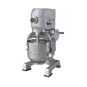 Eurodib M30etl 30qt Gear Driven Planetary Mixer 3 Speeds 2 Hp