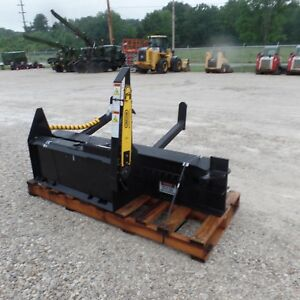 Firewood Wood Log Processor Attachment Bobcat Cat Deere Gehl Skid Steer Hwp 120