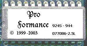 1985 1987 Porsche 924s 944 Performance Eprom Chip 18hp Ecu 076 077